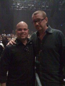 Me & Hamish Hamilton @ Coldplay Nashville '09